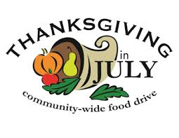 thanksgiving in july food drive 2017 liberty community pantry