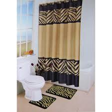 Bathroom Accessories Walmart Com by Leopard Bathroom Set Walmart Zebra 15 Piece Bath Set Bath