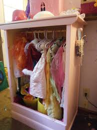 for i am a crafty mom how to make a dress up closet from an