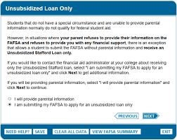 fafsa tutorial dependency overrides edvisors