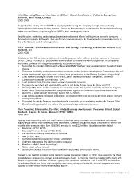 Business Development Resumes Nathaniel Clevenger Corporate Business Development Resume