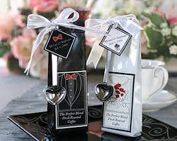 coffee wedding favors personalized coffee wedding favors black and white classic