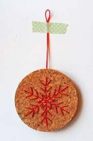 4 days u0027til christmas cork coaster ornaments project kid
