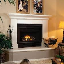 decor chic living room with zero clearance wood burning fireplace