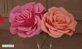 paper roses crepe paper roses martha stewart