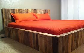 contemporary wood pallet bed furniture pallet furniture plans