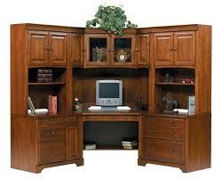 Office Depot Bookcases Wood Desk Bush Cabot Corner Desk With Hutch And Bookcase Bush Cabot