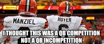 Johnny Manziel Meme - brownsmemes the quarterback incompetition