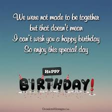 Happy Birthday Husband Meme - happy birthday wishes for ex husband occasions messages
