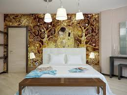 Master Bedroom Ideas With Wallpaper Accent Wall Home Interior Exciting Accent Wall Design Ideas Sponge Painting