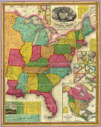 Map Of Te United States by Map Of The United States David Rumsey Historical Map Collection