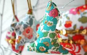 liberty fabric diy ornaments ao lifestyle