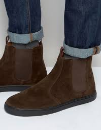 womens boots kurt geiger kurt geiger carvela kg kurt geiger bison suede chelsea trainers