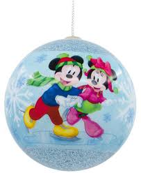 hallmark decoupage mickey mouse ornament