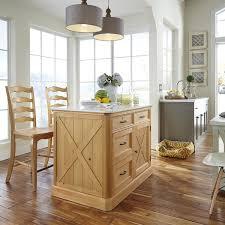 kitchen island set home styles country lodge kitchen island set reviews wayfair