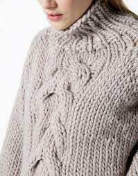 cable sweater cropped cable sweater knitting kit wool and the