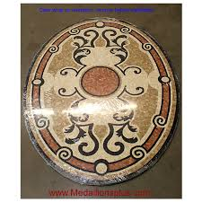 tile floor medallions home tiles