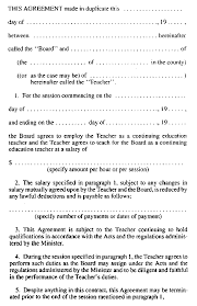 r r o 1990 reg 310 teachers u0027 contracts
