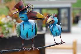 free images decoration color ceramic blue macaw figure