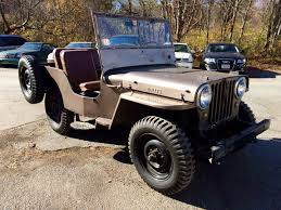 willys jeep truck for sale buy 1948 jeep util willys weston ma weston automotive inc