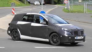 mercedes b class ev mercedes b class to spawn coupe crossover ev sedan