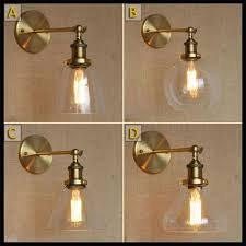 Vintage Wall Sconce Lighting 2017 110v 220v 230v God Retro Industrial Bronze Vintage Wall Lamp