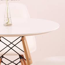 mod made paris tower round table wood leg out of stock u2013 modish
