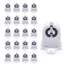 non shunted l holder type t8 l holder jackyled 20 pack ul non shunted light