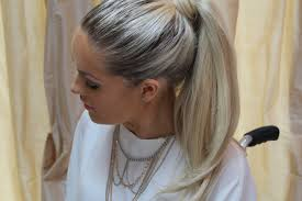 glam hair extensions looks bobby glam wrap around ponytail s beautiful