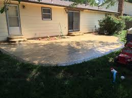Concrete Backyard Design Stamped Concrete Decorative Concrete Colored Concrete Patio