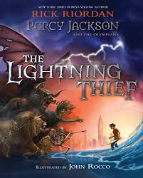 percy jackson and the olympians the lightning thief illustrated