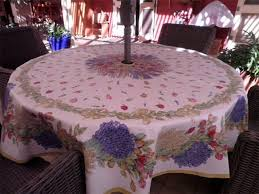 Patio Table Covers Square Square Patio Table Tablecloth With Umbrella The