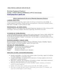 Mechanical Engineering Resume Templates Diploma Mechanical Engineering Resume Samples Resume Format Edit