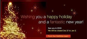 holidays happy new year