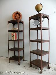 Metal And Wood Bookshelves by Decor Rustic Metal And Wood Bookcase Design Idea