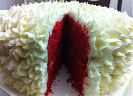 10 inch red velvet cake with butter cream icing online deal