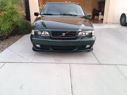 1999 v70 t5m factory manual emerald green 90k miles