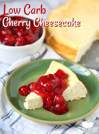 cuisine cherry low carb cherry cheesecake the country cook