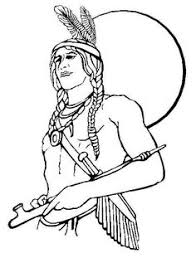 free native american coloring pages coloring