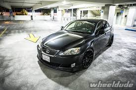 lexus is 250 kw satin black wheeldude com