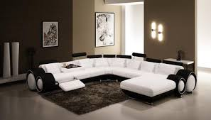 Contemporary White Leather Sectional Sofa by Modern Sectional Sofas At Contemporary Furniture Warehouse