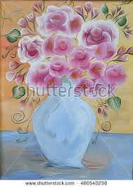 Glass Vase Painting Vase Painting Stock Images Royalty Free Images U0026 Vectors