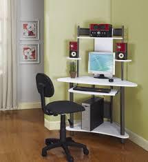 small glass office desk desk for home josephtany loudhaze com