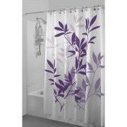 Plum Flower Curtains Purple Shower Curtains Walmart Com