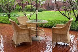 Wicker Patio Furniture Ebay Plastic Vs Rattan Lawn Furniture Ebay