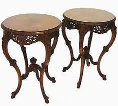 antique round coffee table antique round table ebay