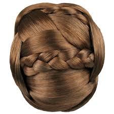 bun clip hairdo braided chignon clip in bun hair