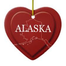 map of alaska ornaments keepsake ornaments zazzle
