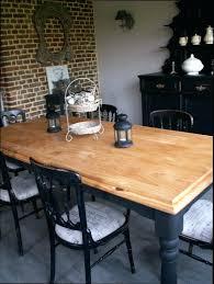 cuisine bois et metal table de cuisine bois jaol me