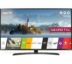 display tv buy lg 49uj634v 49 smart 4k ultra hd hdr led tv free delivery